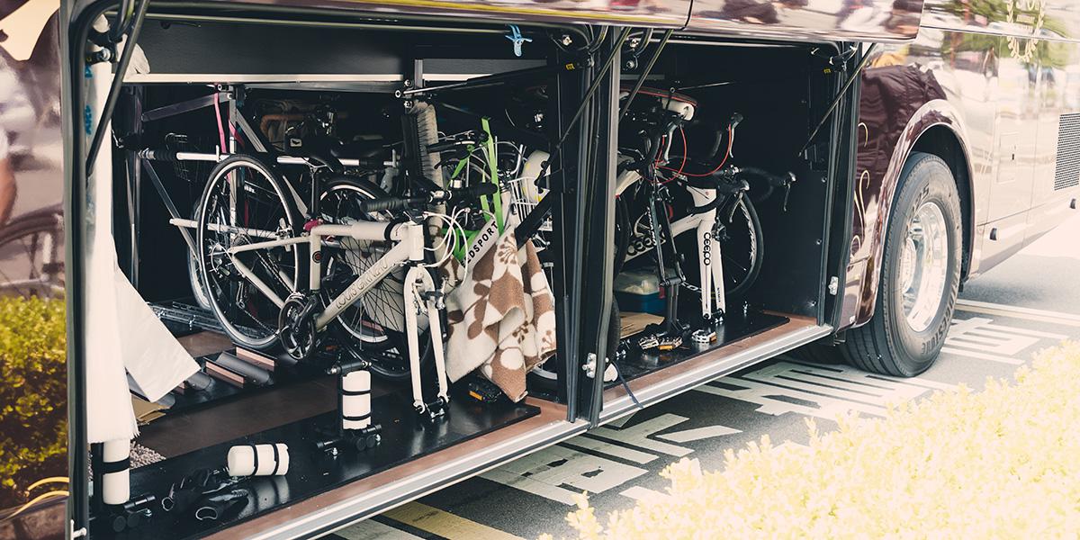スポーツ合宿や宿泊など荷物が多い場合も安心。